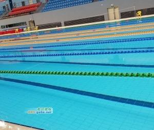 """■高大上的百色""""水立方""""游泳馆内部最新样貌"""