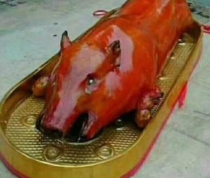 酥脆皮烤香猪...